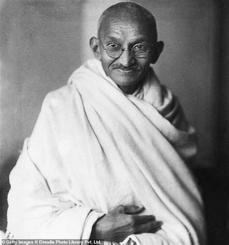 Mahatma Gandhi is set to become the first non-white person ...