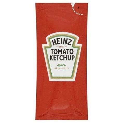 100 Heinz Tomato Ketchup Individual sachets Heinz https ...