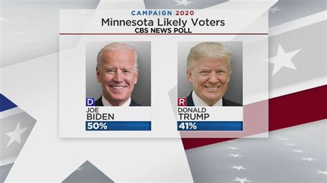 Polls Show Biden With 9-Point Lead Over Trump In Minnesota ...
