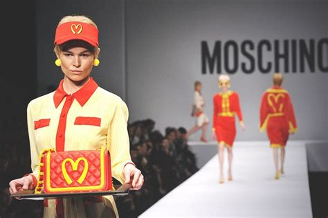 Moschino's ,000 Mcdonald's-inspired Dress Is About More