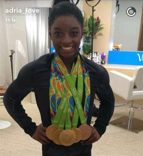 Simone Biles Gymnastics Olympic Medals