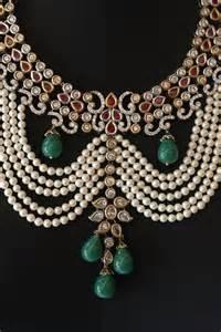 Nizam Jewellery Designs Pearl
