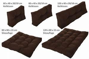 Polster Kissen Sofa : palettenkissen palettenpolster kissen sofa polster verschiedene farben ~ Watch28wear.com Haus und Dekorationen