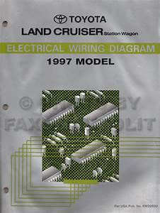 1997 Toyota Land Cruiser Wiring Diagram Manual Original