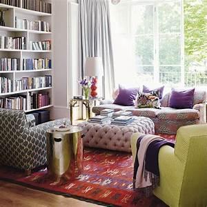 51 inspiring bohemian living room designs digsdigs for Bohemian living room