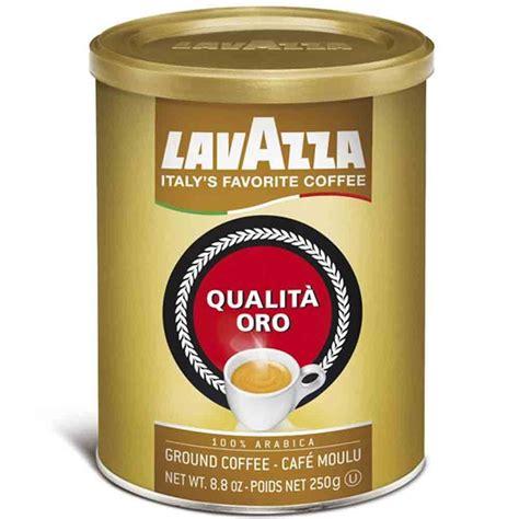 Lavazza Qualita Oro 100% Arabica Medium Roast Ground
