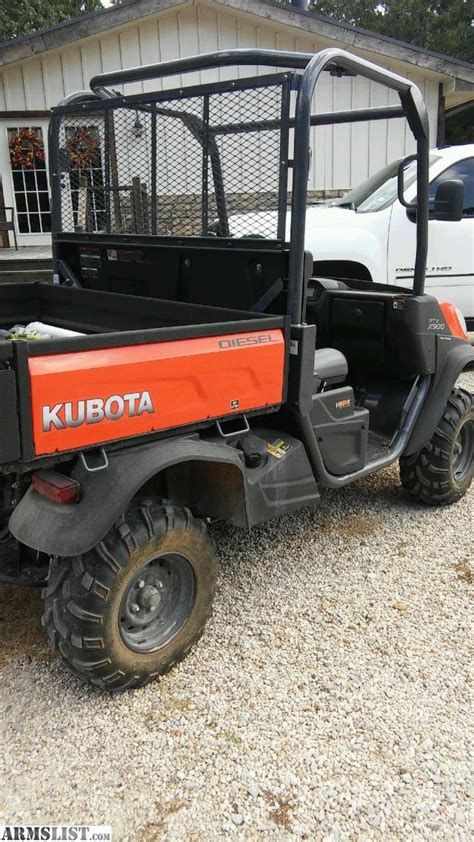 armslist for sale trade 2015 kubota rtv900 only 60 hrs