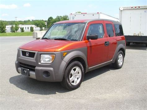 Find Used 2003 Honda Element Ex All Wheel Drive Automatic