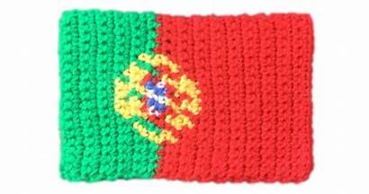 Flag Crochet Pattern Portugal Patterns Knitting European