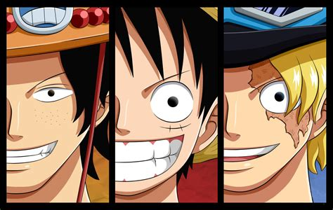 Luffy, Sabo, Ace Wallpaper And Background Image