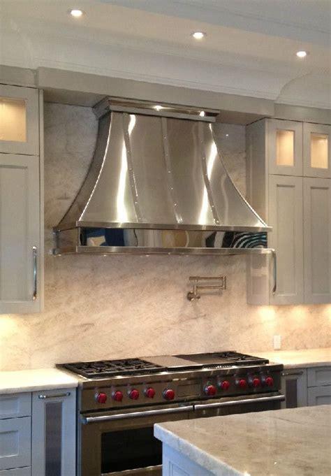 chrome  chrome trim kitchen vent hood kitchen range