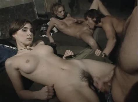 Young Italian Women In Sexy Foursome Hairy Porn