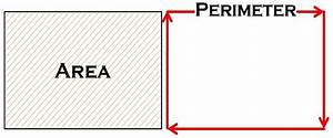 Difference Between Area And Perimeter  With Comparison