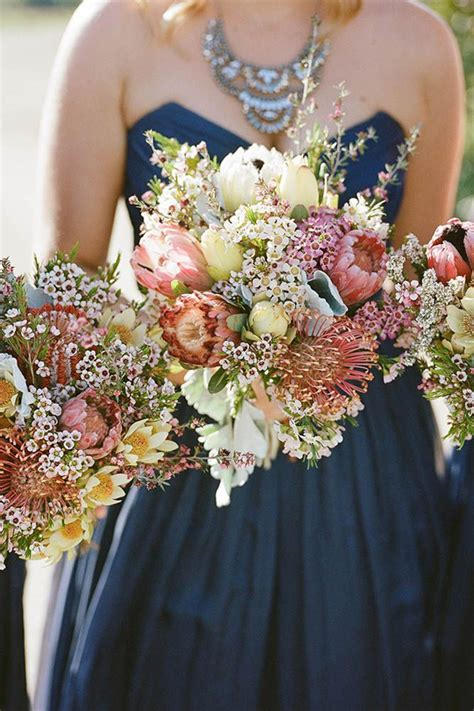 gorgeous jewel toned wedding bouquets