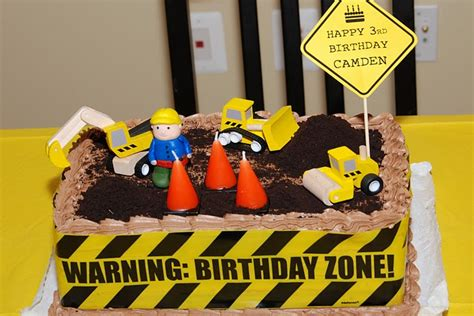 construction truck themed 1st birthday party planning ideas stylish childrens construction birthday party