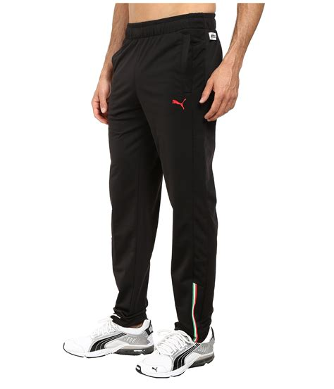Приталений крій дозволять займатися активним спортом, так як виріб не сковує руху. PUMA Scuderia Ferrari Track Pant in Black for Men - Lyst