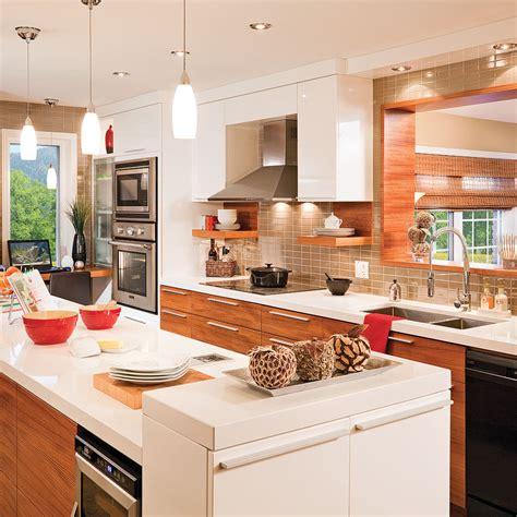 belles cuisines contemporaines cuisine contemporaine et fonctionnelle cuisine