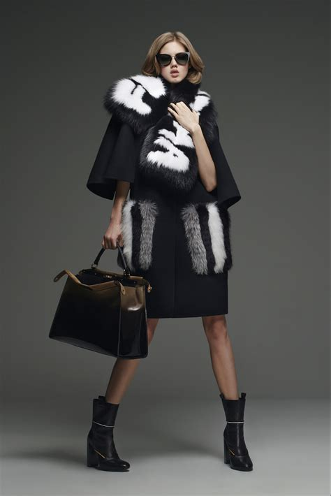 fendi pre fall  lookbook collection spotted fashion