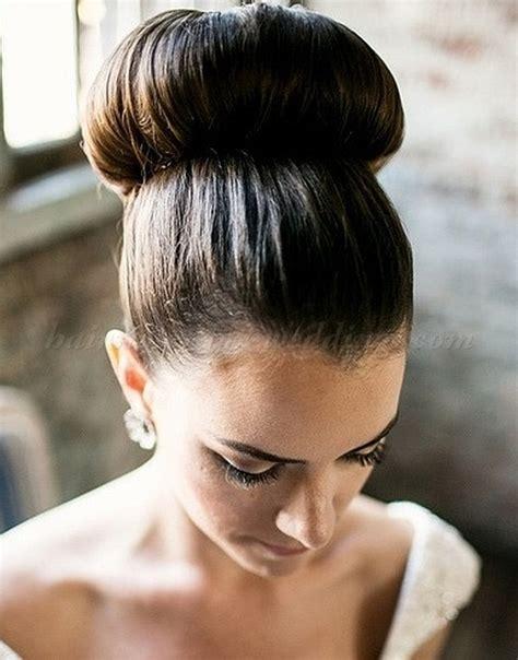 top bun wedding hairstyles   top bun hairstyle for brides