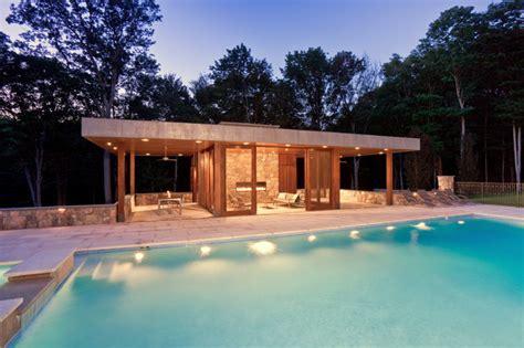 Kitchen Lighting Pendant Ideas - modern pool house