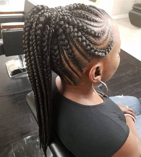 Cornrow Ponytail Hairstyles For by 20 Totally Gorgeous Braids For An Intricate Hairdo