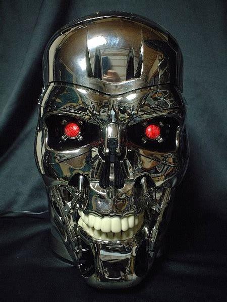 terminator skull dvd player