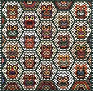 Teppich Auf Englisch : 39 s quiltgartl n chstes jahrhundertprojekt eulenhexagon ~ Watch28wear.com Haus und Dekorationen