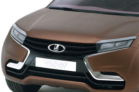 Lada Xray 2018 Car Interior Design
