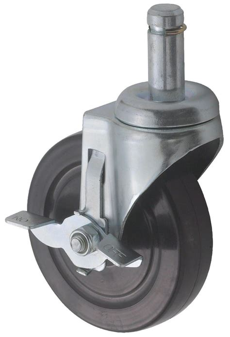 Winco Vc Ctb Casters With Brake For Wire Shelves 5