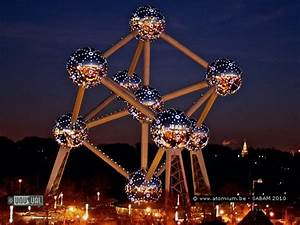 School groups can sleep in The Atomium, Brussels