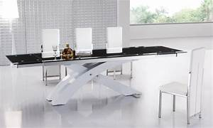 table de salle a manger pour tous les gouts et chauque style With salle À manger contemporaine avec table salle À manger design avec rallonge
