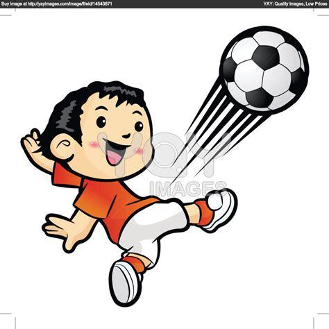 Kick Clipart Clipart Football Player Kicking Clipart Panda Free