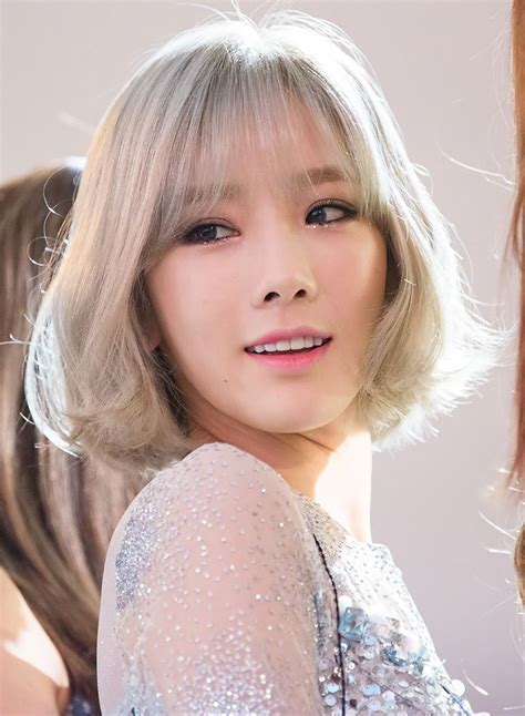 taeyeon new hairstyle editor s a more about taeyeon of