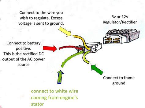 dc voltage regulator wiring diagram generator voltage