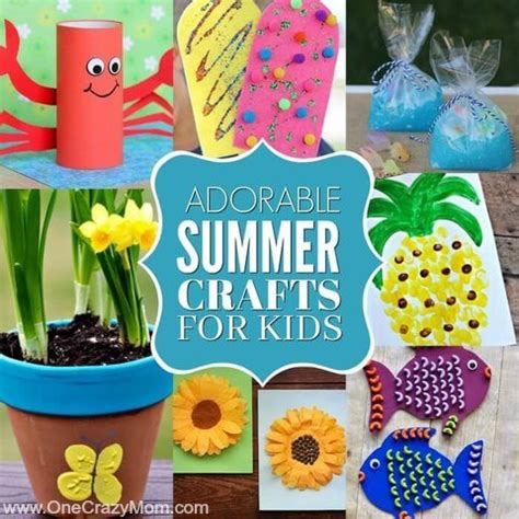 summer crafts  kids  easy summer crafts  kids