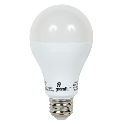 greenlite a21 led 12w non dimmable bulb qc supply