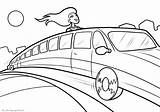 Coloring Pages Limousines sketch template