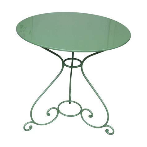 table de jardin ronde en fer forge table de jardin ronde en fer forg 233