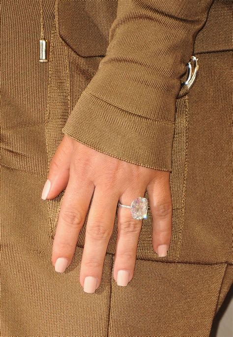 Here's How Kim Kardashian Keeps Her Engagement Ring and ...