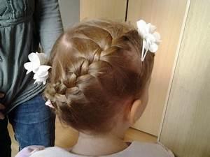 Coiffure Enfant Tresse : coiffure mariage fille ~ Melissatoandfro.com Idées de Décoration