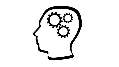 cogs working   brain stock footage video