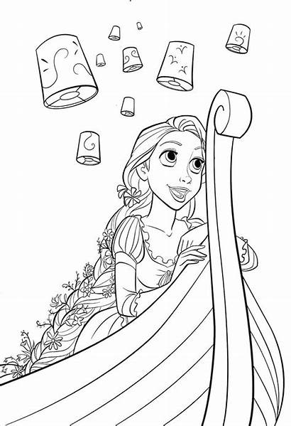 Tangled Pascal Drawing Coloring Pages Getdrawings