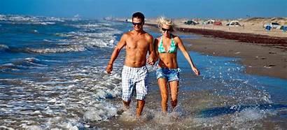 Texas State Mustang Island Beach Tx Mexico