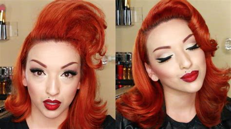 modern vintage hair tutorial youtube
