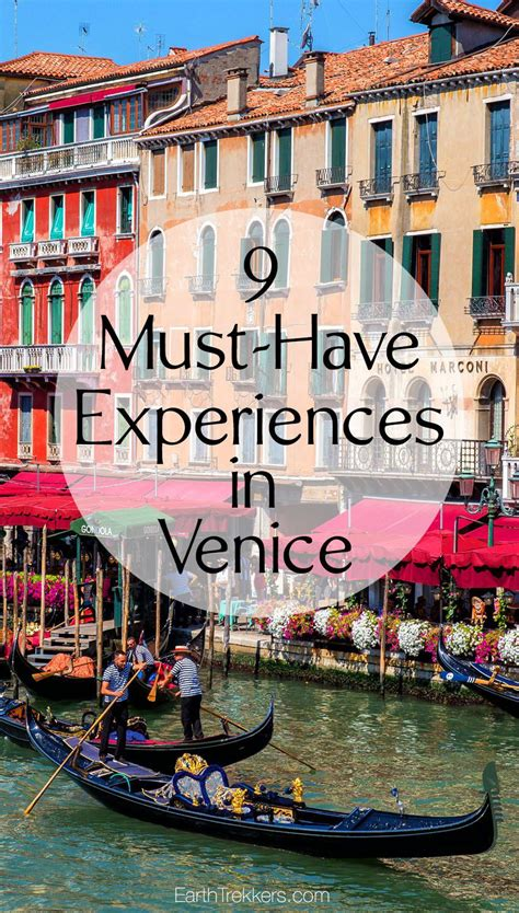 Best Things To Do In Venice Italy 9 Must Experiences In Venice Italy Earth Trekkers