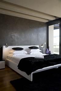 Wand Grau Streichen : 65 wand streichen ideen muster streifen und struktureffekte ~ Frokenaadalensverden.com Haus und Dekorationen
