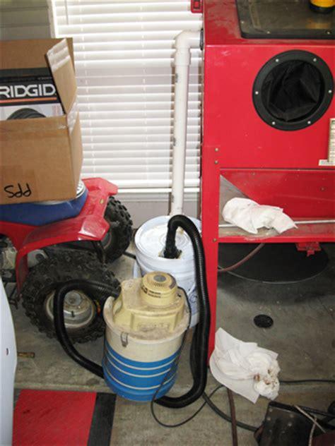 diy sandblast cabinet vacuum blast cabinet vacuum filter chevytalk free restoration
