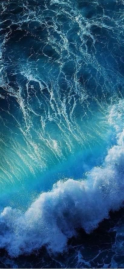 4k Wallpapers Iphone Beach Mobile Ocean Wave