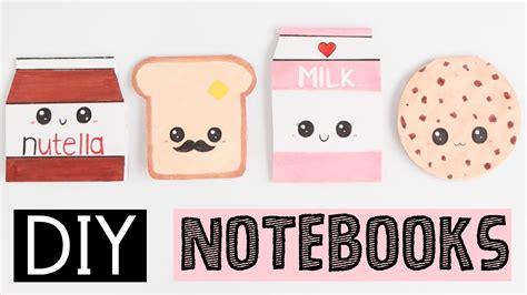 diy notebooks  easy cute ideas youtube