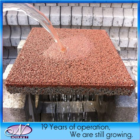 porous brick pavers china porous pervious ceramic water permeable brick paver for driveway walkway photos